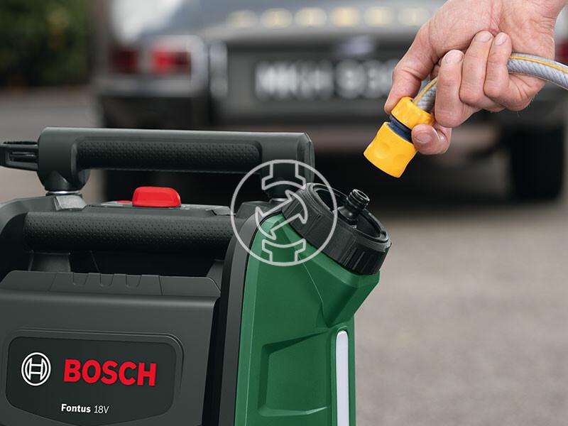 Bosch Fontus II akkus magasnyomású mosó
