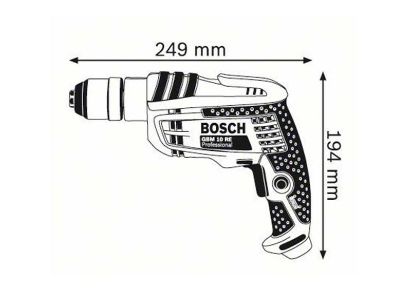 Bosch GBM 10 RE