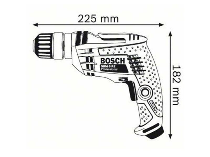 Bosch GBM 6 RE