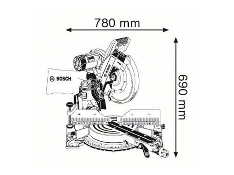 Bosch GCM 12 GDL