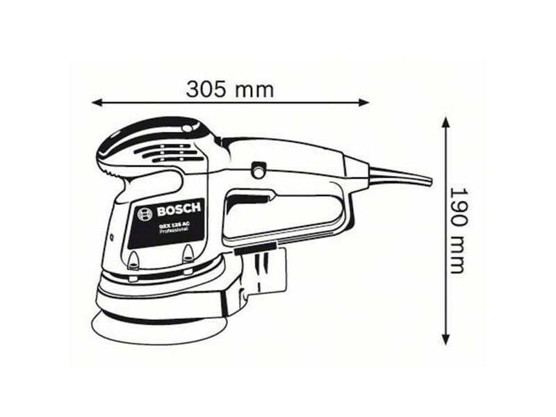 Bosch GEX 125AC