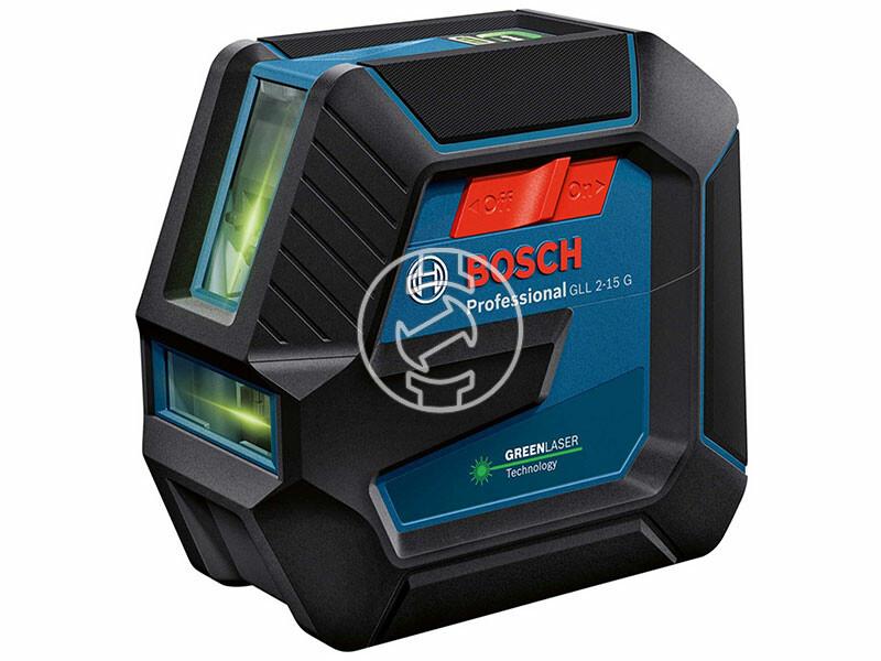 Bosch GLL 2-15 G vonallézer + BT 150