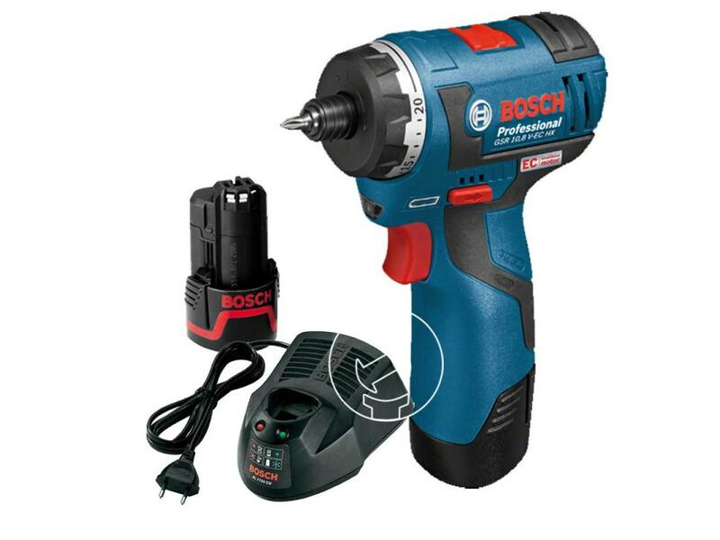 Bosch GSR 12 V-20 HX