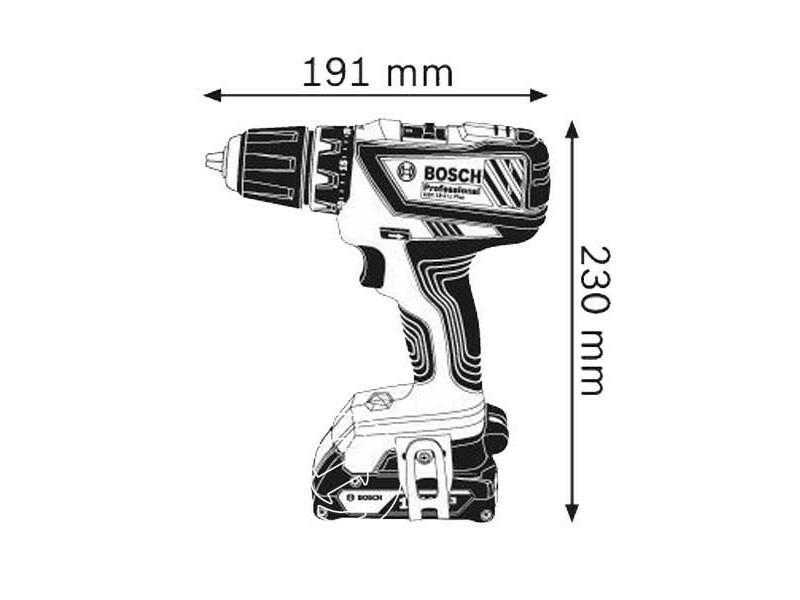 Bosch GSR 18-2-LI Plus