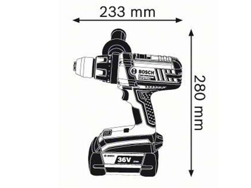 Bosch GSR 36 VE-2-LI