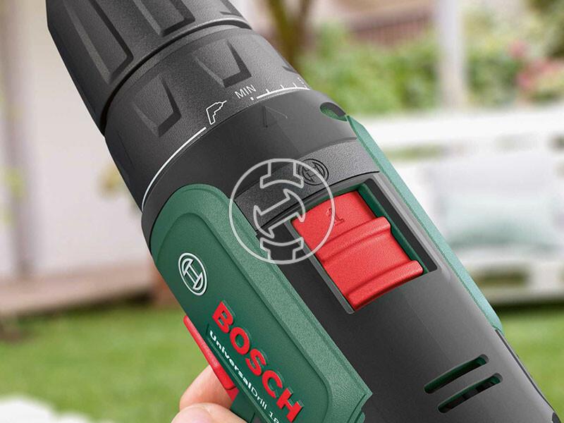 Bosch UniversalDrill 18 akkus fúrócsavarozó tokmányos
