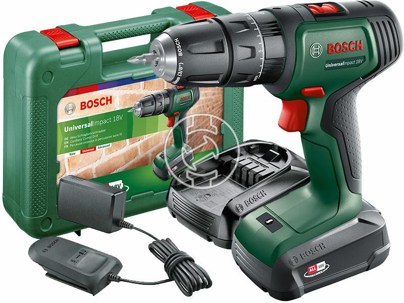 Bosch UniversalImpact 18 akkus ütvefúró-csavarozó