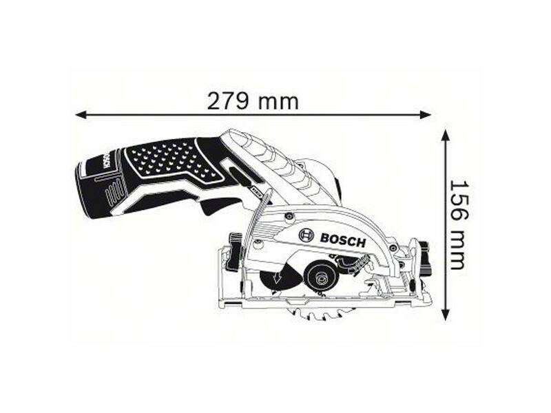 Bosch GKS 12 V-LI