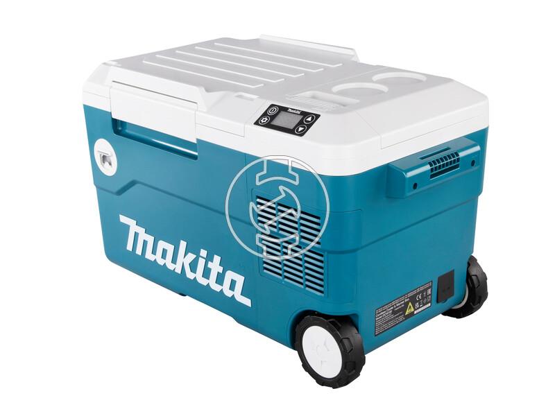 Makita DCW180Z akkus hűtő és melegen tartó láda (akku és töltő nélkül)
