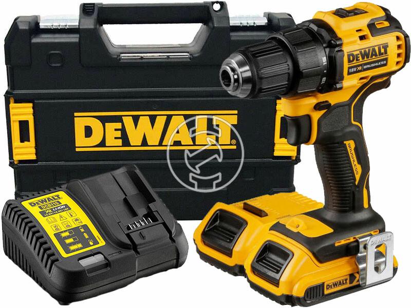 DeWalt DCD708L2T-QW akkus fúrócsavarozó tokmányos