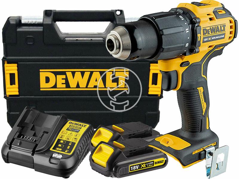 DeWalt DCD709S2T-QW akkus ütvefúró-csavarozó