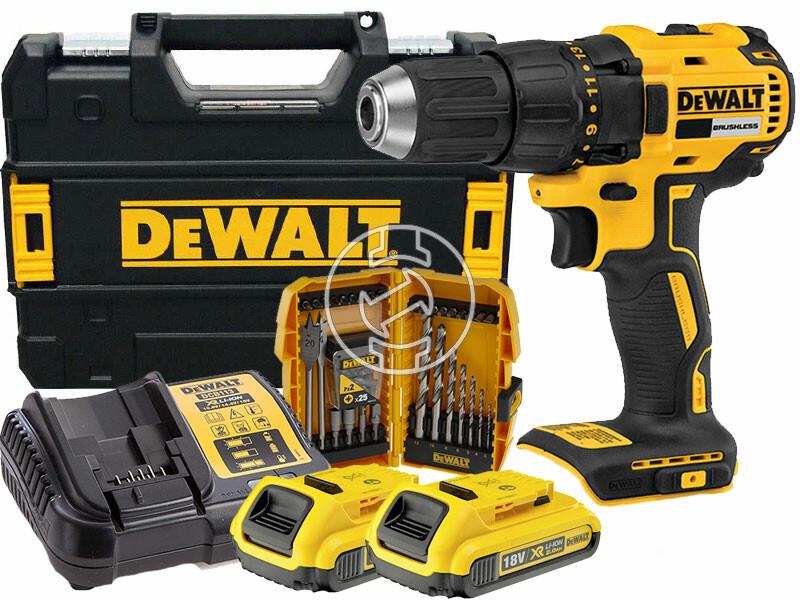 DeWalt DCD777D2K-QW akkus fúrócsavarozó tokmányos