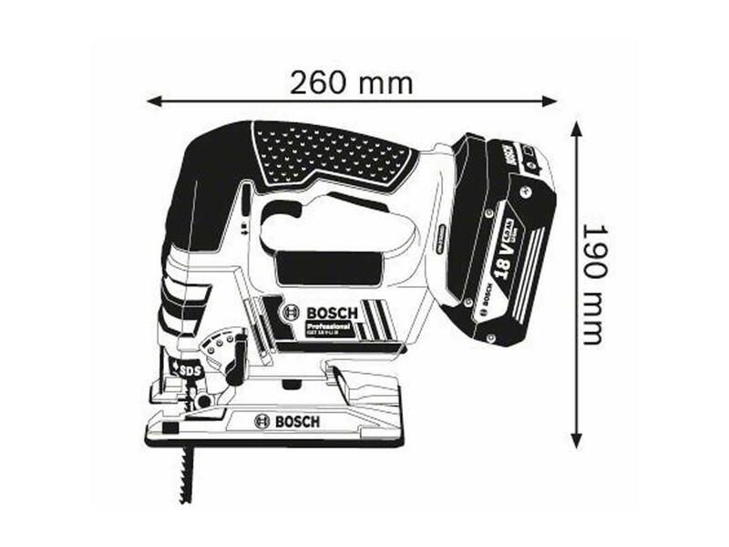 Bosch GST 18 V-LI B