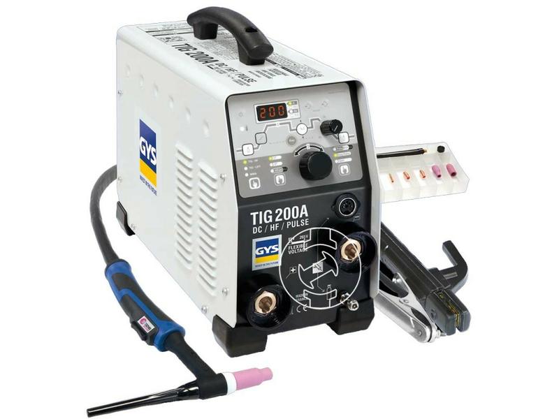 GYS TIG 200 DC FV FV