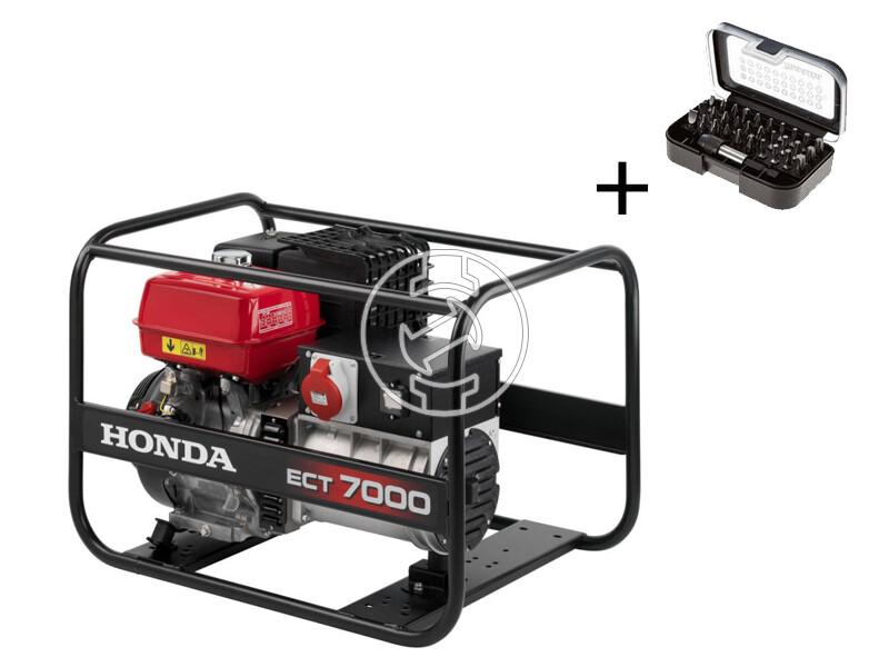 Honda ECT 7000 benzinmotoros áramfejlesztő