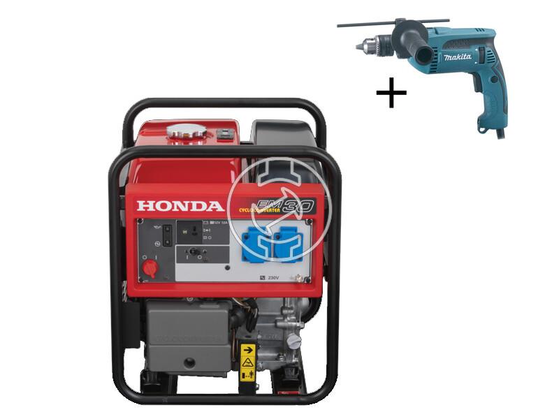 Honda EM 30 i benzinmotoros áramfejlesztő