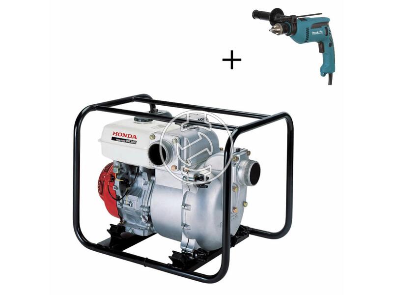 Honda WT 30 benzinmotoros szennyvízszivattyú