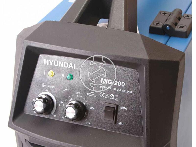 Hyundai MIG-200 fogyólelektródás inverteres co hegesztő