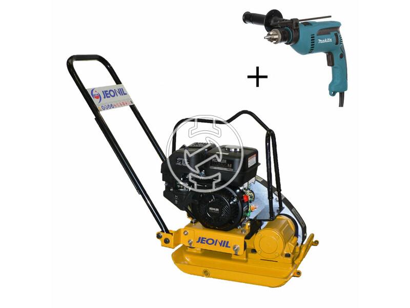 Jeonil JPC-90 WTK KOHLER benzinmotoros lapvibrátor