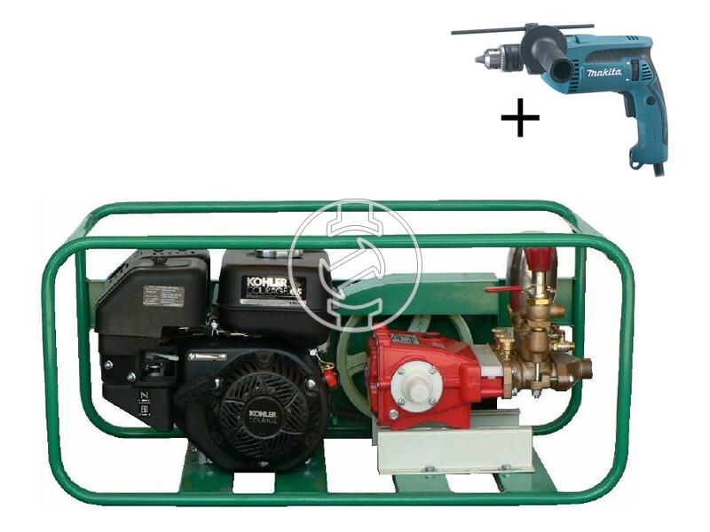 KIS-35 K KOHLER benzinmotoros nyomáspróba és permetező szivattyú