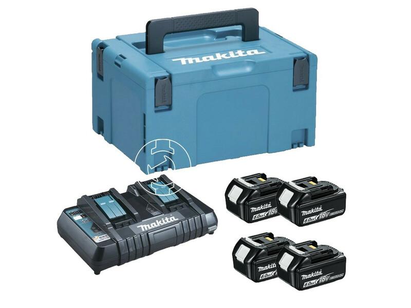 Makita BL1860B + DC18RD