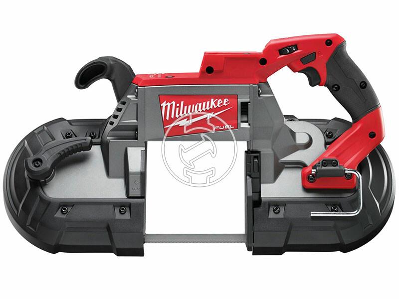 Milwaukee M18 CBS125-0 szalagfűrész (akku és töltő nélkül)
