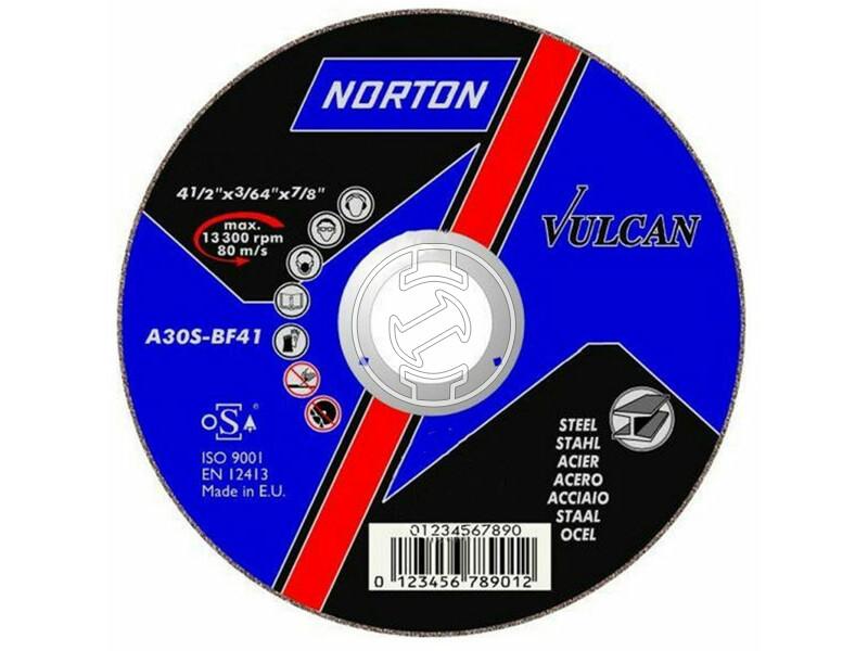 Norton ABRASIVES 115x1.0 inox