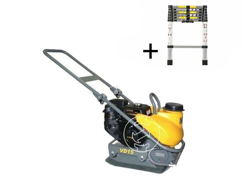 NTC Praktik VD 15P K lapvibrátor Kohler motorral