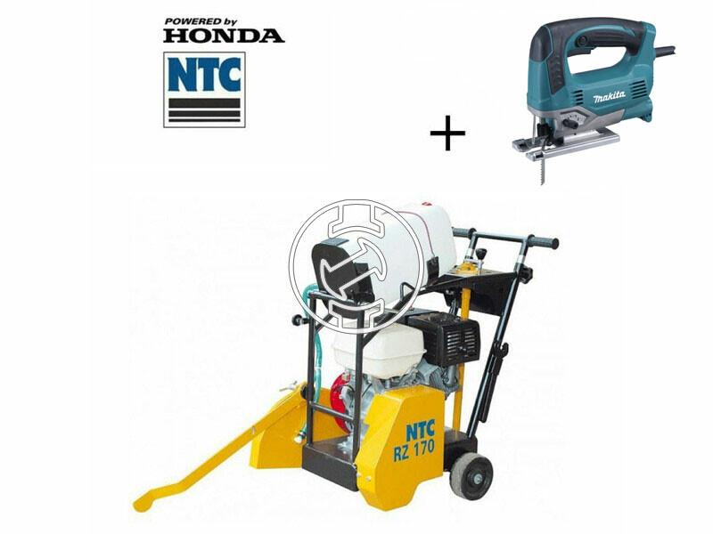 NTC RZ 170 aszfaltvágógép Honda benzinmotorral