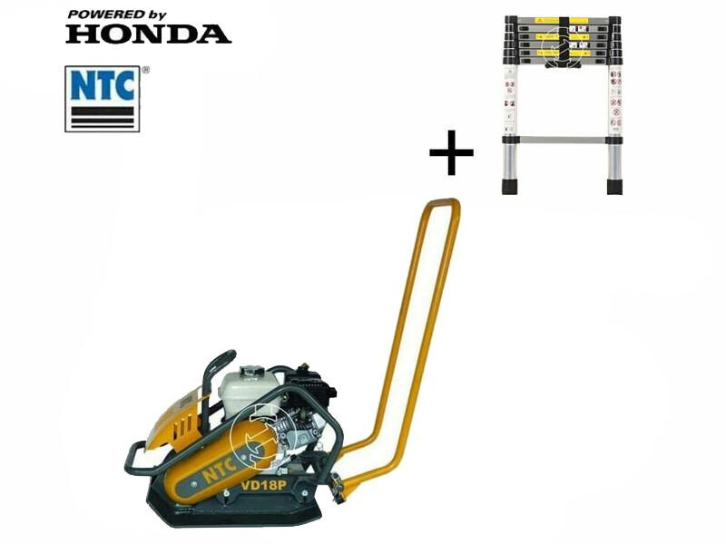 NTC VD 18P lapvibrátor Honda motorral