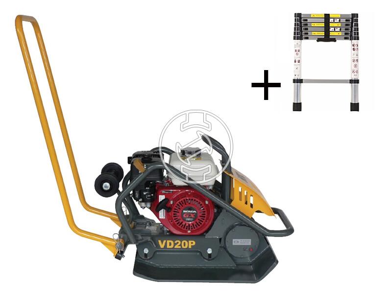 NTC VD 20P lapvibrátor Honda motorral
