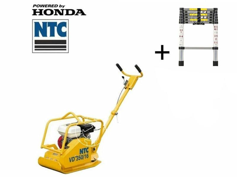 NTC VD350/16 lapvibrátor Honda motorral