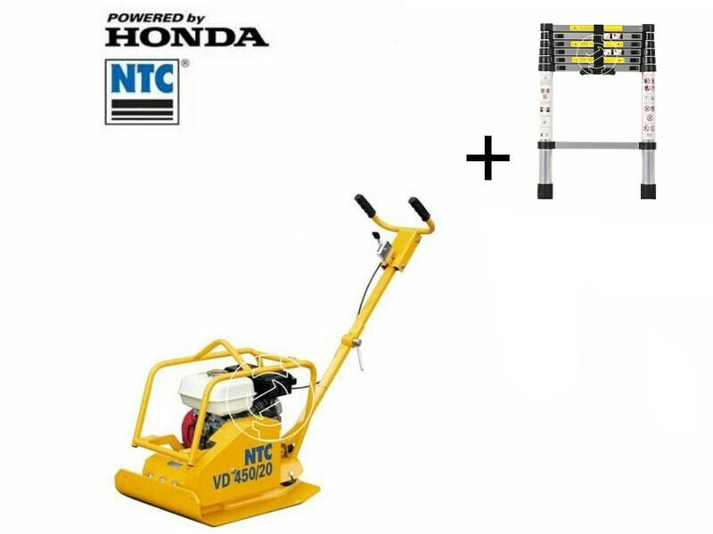 NTC VD450/20 lapvibrátor Honda motorral