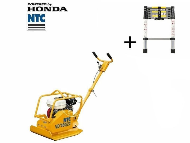 NTC VD450/22 lapvibrátor Honda motorral