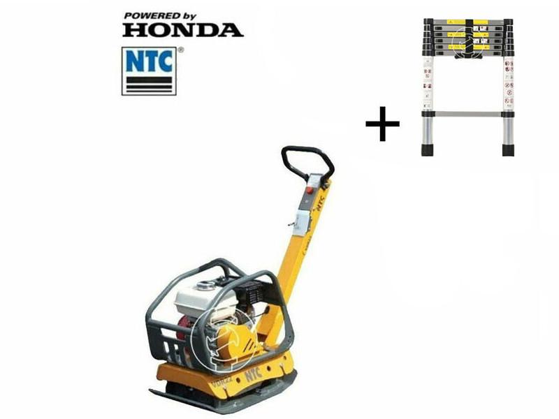NTC VDR22 lapvibrátor előre-és hátramenettel Honda motorral