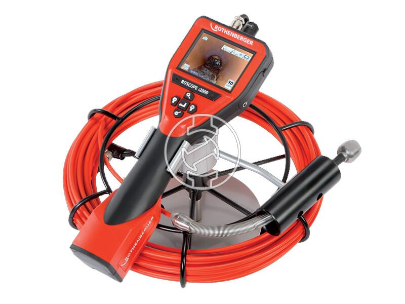 Rothenberger ROSCOPE i2000 csővizsgáló kamera