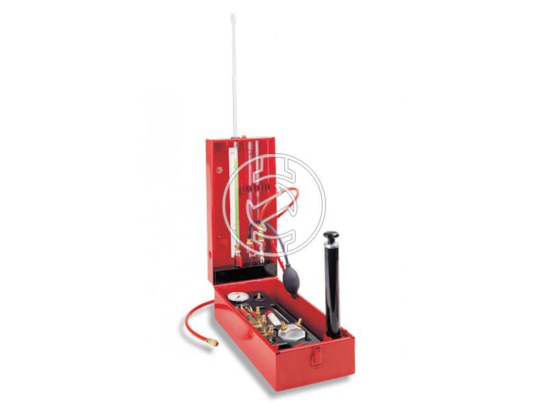 Rothenberger ROTEST GW 150/4 víz és gázvezeték ellenőrző kalibrálási jegyzőkönyvel