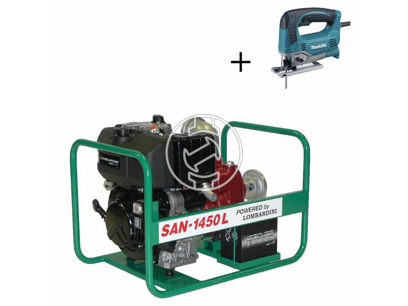 SAN-1450 L szennyvízszivattyú Lombardini dízelmotorral