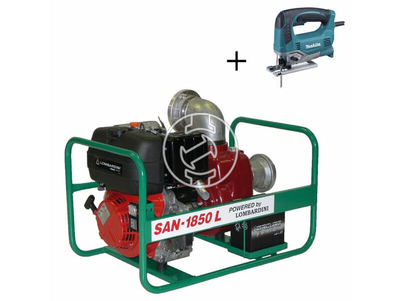 SAN-1850 L szennyvízszivattyú Lombardini dízelmotorral
