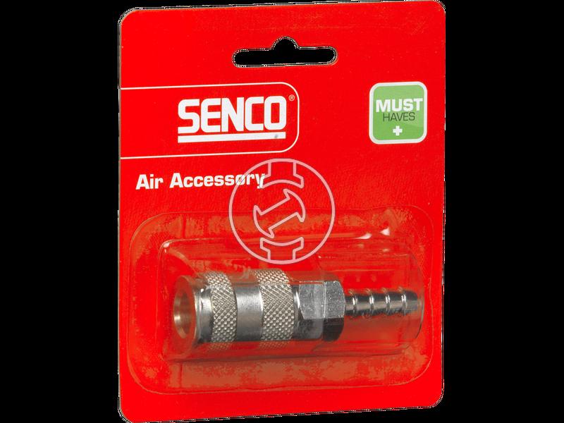 Senco 8 mm levegős kuplungos tömlővéges gyorscsatlakozó 4000410