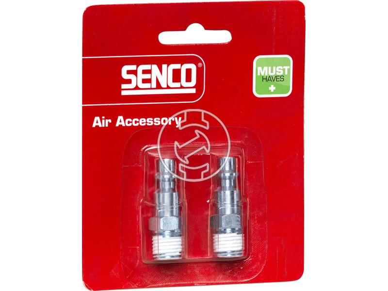 Senco 1/4 inch levegős külső menetes gyorscsatlakozó 4000080