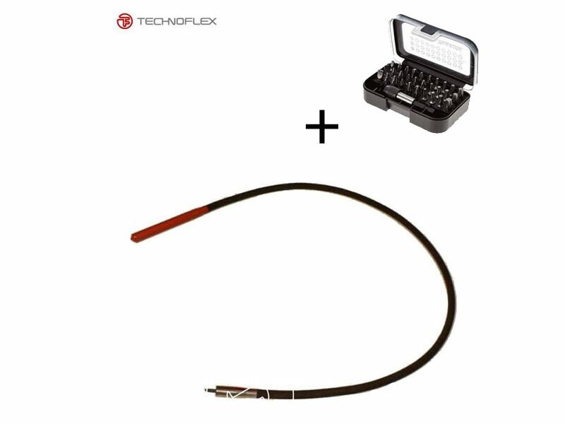 Technoflex rázófej+tengely 38mm/2m