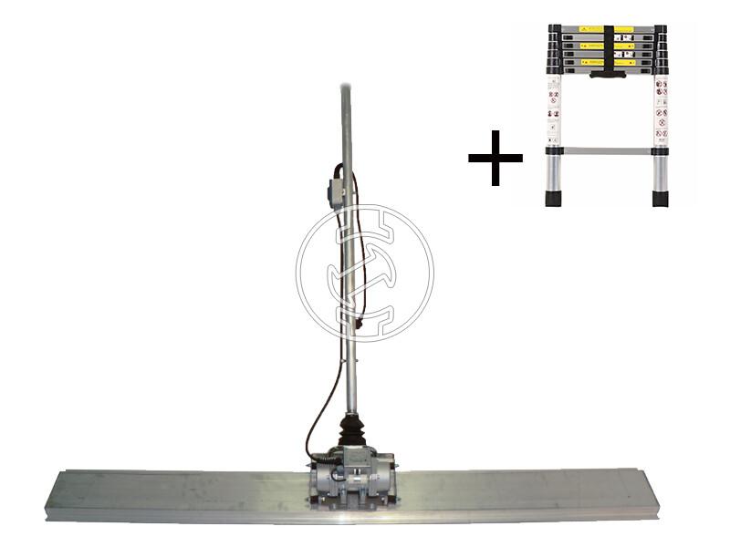 Technoflex úszó vibrogerenda 2m 230V-os elektormotorral
