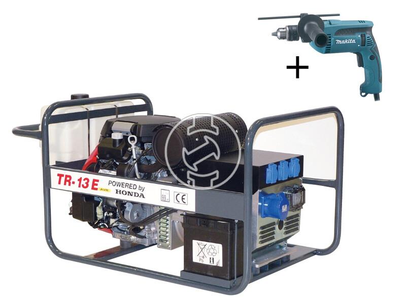 TR 13E Honda benzinmotoros áramfejlesztő