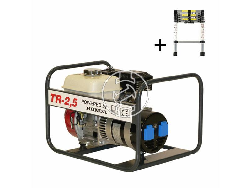 TR 2.5 Honda négyütemü benzinmotoros áramfejlesztő