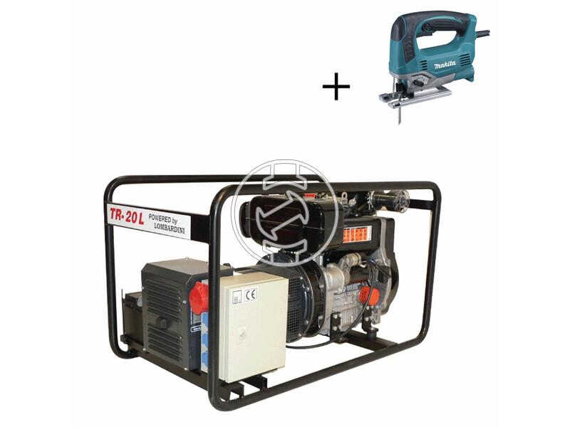 TR 20 L Lombardini dízelmotoros áramfejlesztő