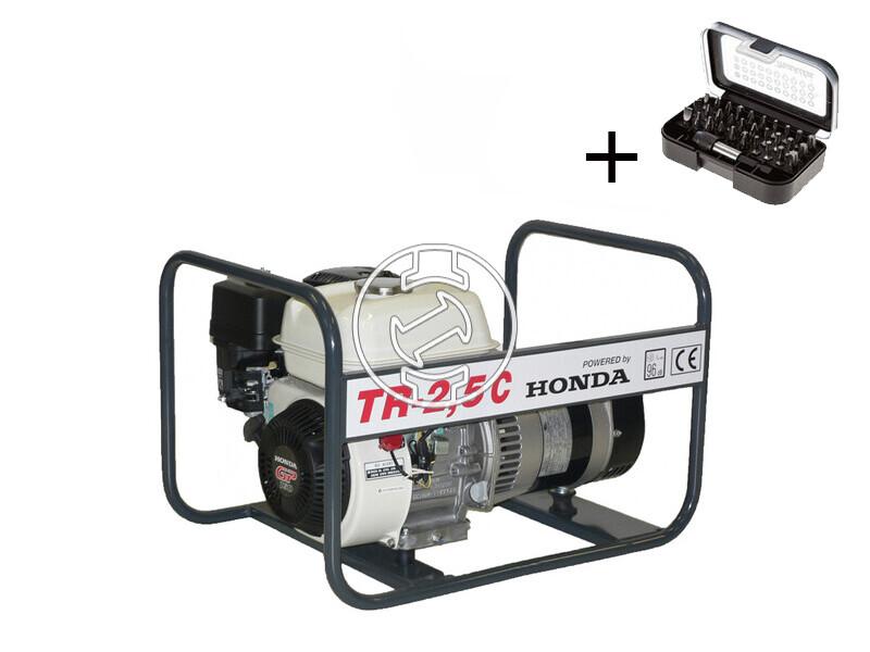 TR 2,5 C Honda áramfejlesztő