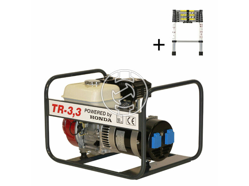 TR 3.3 Honda négyütemü benzinmotoros áramfejlesztő