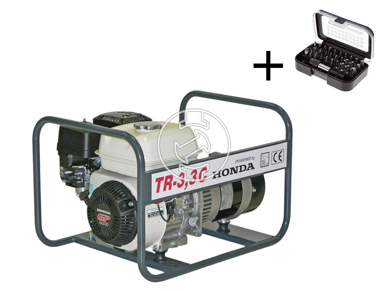 TR - 3,3 C Honda motoros áramfejlesztő