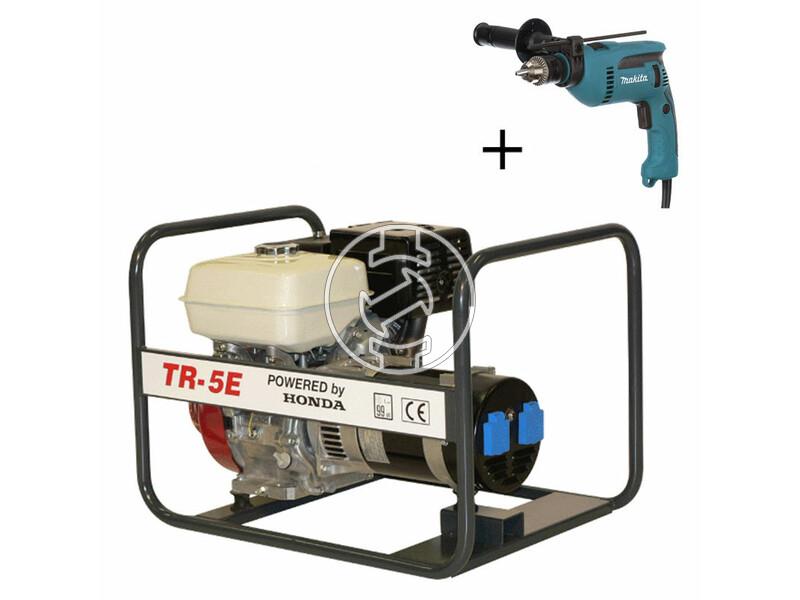 TR 5E Honda négyütemü benzinmotoros áramfejlesztő